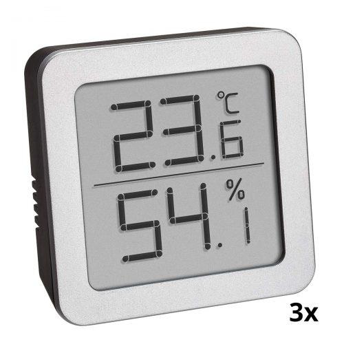 3er SET Thermo Hygrometer
